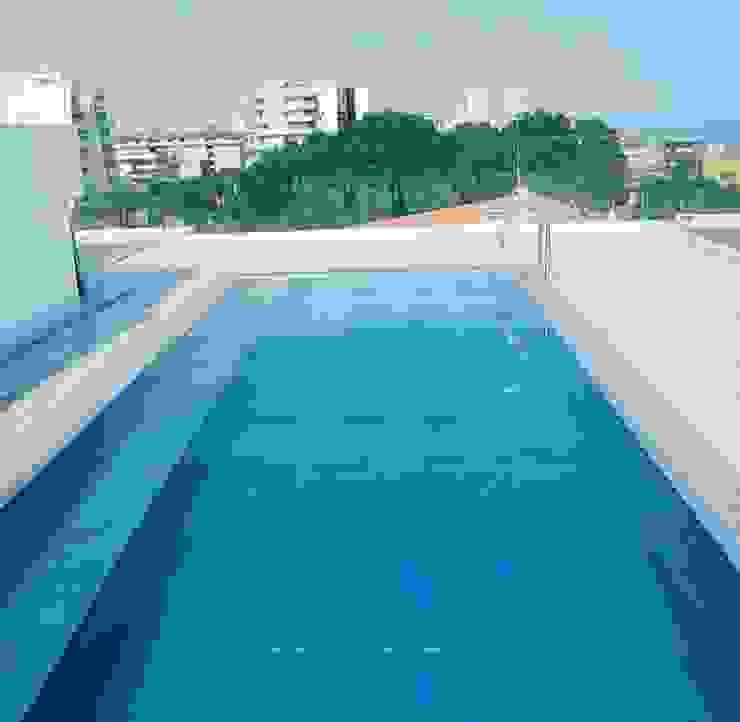 Blumaxx Wellness Infinity pool Iron/Steel Metallic/Silver
