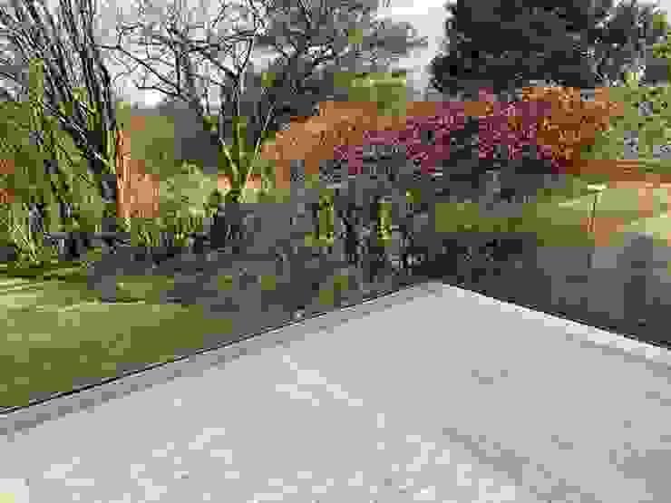 Frameless Decking Glass Balustrade Origin Architectural Halaman depan Kaca Transparent