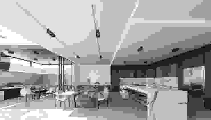 Conoce nuestras residencias en venta en Bugambilias, Zapopan, Jalisco, México. Rebora Arquitectos Cocinas modernas Mármol Blanco