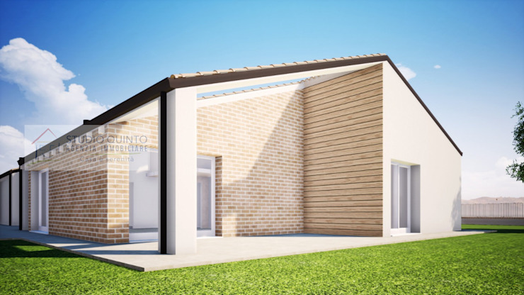 Agenzia Studio Quinto Casas de estilo moderno