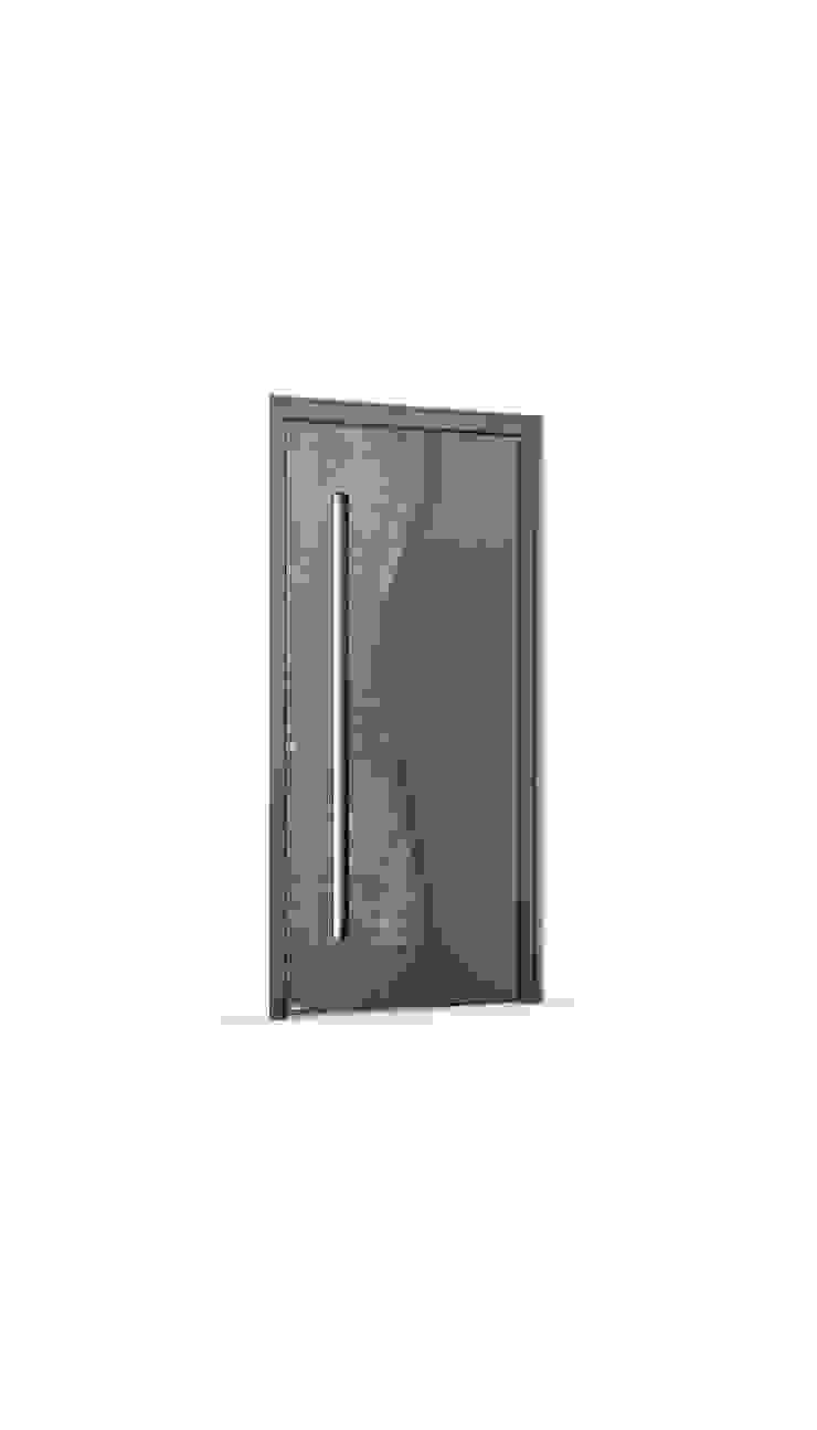 RK Exclusive Doors 前門 鋁箔/鋅 Grey