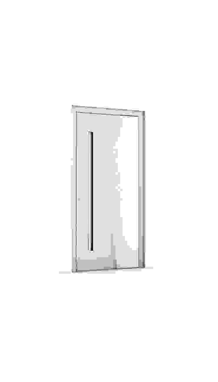 RK Exclusive Doors 前門 鋁箔/鋅 White