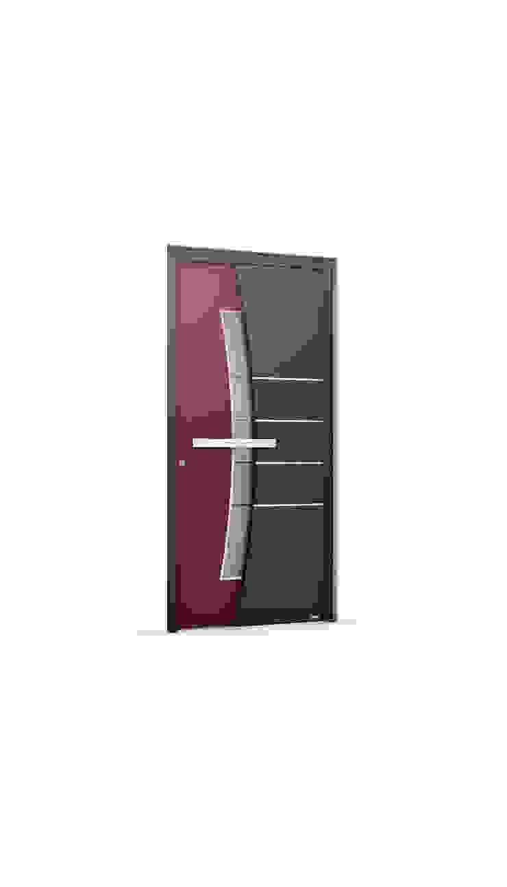 RK Exclusive Doors 前門 鋁箔/鋅 Red