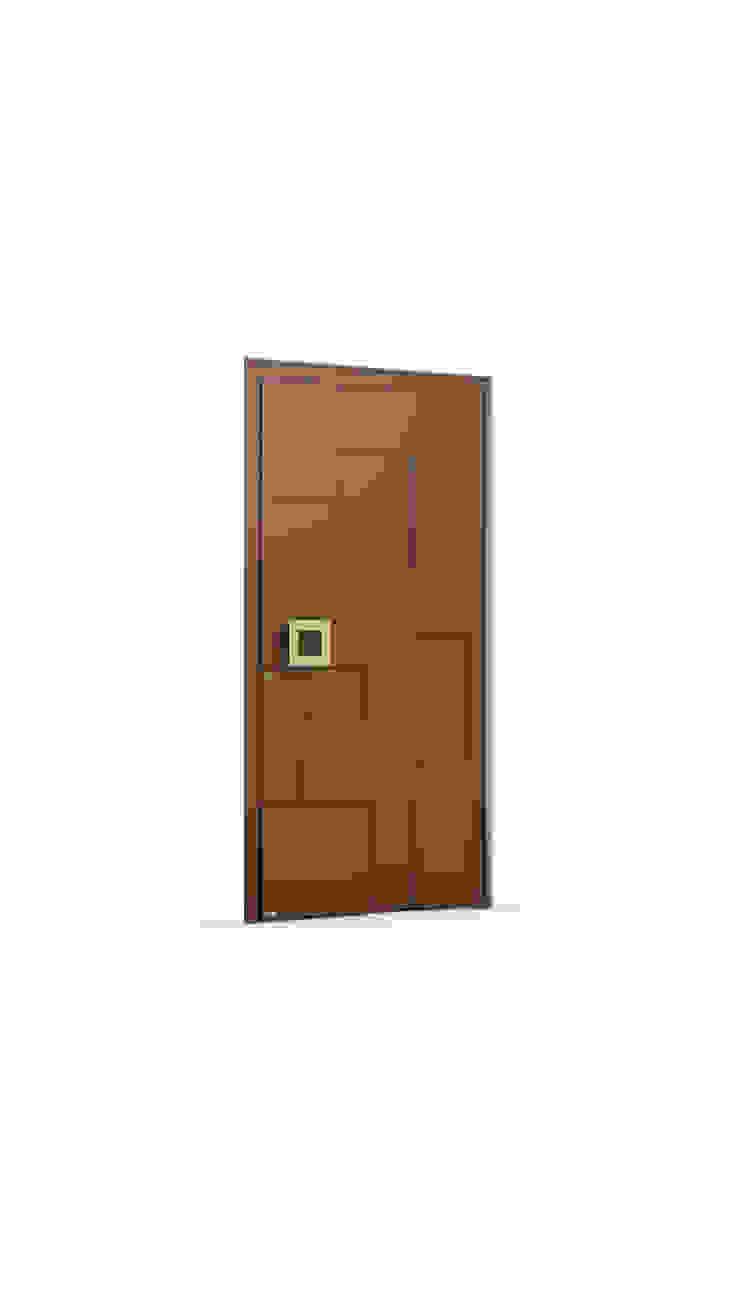 RK Exclusive Doors 前門 鋁箔/鋅 Brown