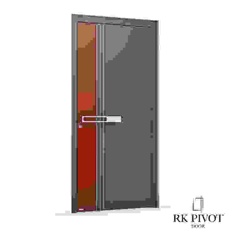 RK Exclusive Doors 門 鋁箔/鋅 Red