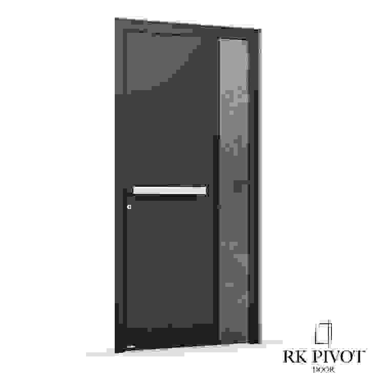 RK Exclusive Doors 前門 鋁箔/鋅 Black
