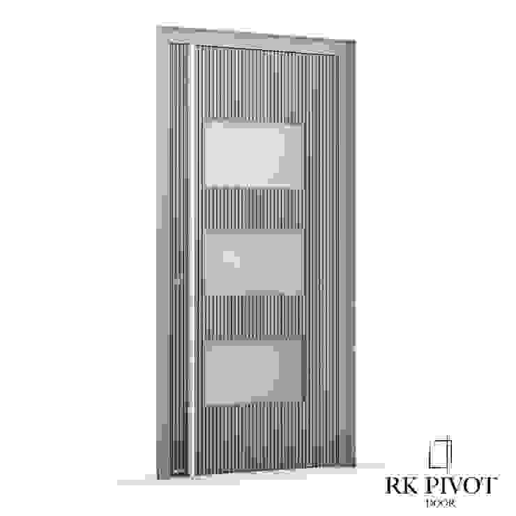 RK Exclusive Doors 前門 鋁箔/鋅 Metallic/Silver