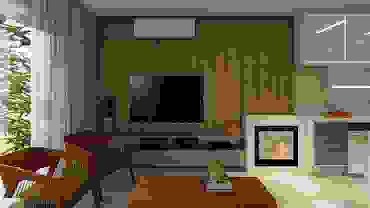 Nesta Espaços Extraordinários Modern living room