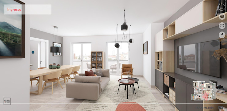 InstantRender Living room