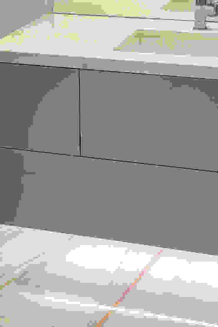 Mobile lavabo della camera in vetro Grigio Alpaca TM Italia Bagno moderno Vetro Grigio