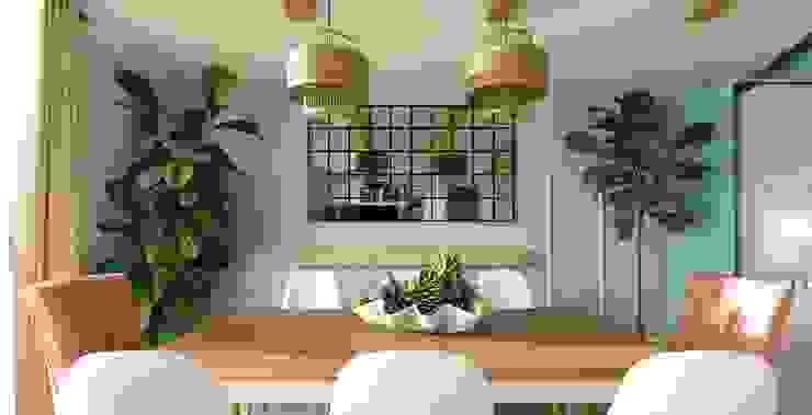 Comedor - Proyecto Vallenar Gabi's Home Comedores de estilo clásico Acabado en madera