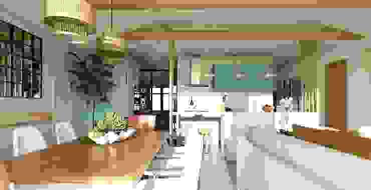 Comedor - Living Gabi's Home Comedores de estilo clásico Turquesa