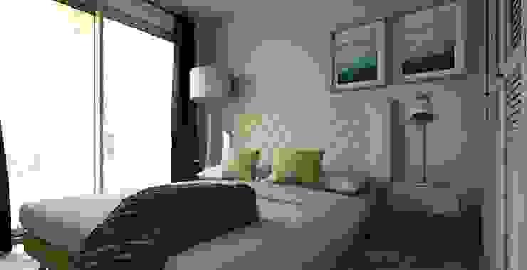 Dormitorio - Proyecto Vallenar Gabi's Home Dormitorios de estilo clásico Turquesa