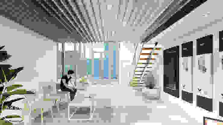 ARBOL Arquitectos Minimalist study/office