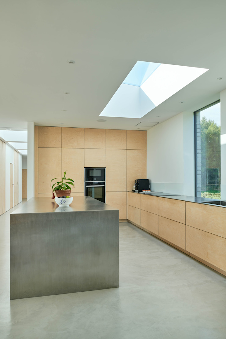 Kitchen overview Brown & Brown Architects Built-in kitchens