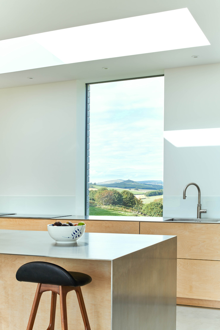 Kitchen Brown & Brown Architects Built-in kitchens