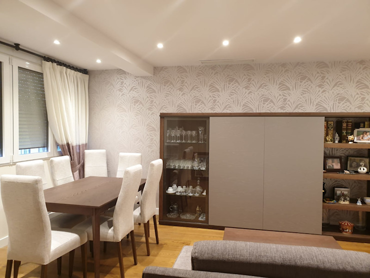 Estudio RYD, S.L. Modern Living Room Wood Beige