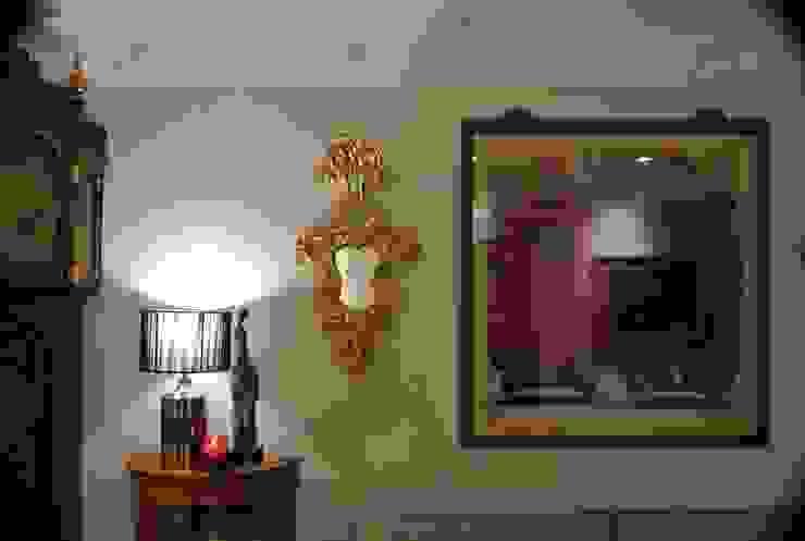 Estudio RYD, S.L. Living room Copper/Bronze/Brass Beige