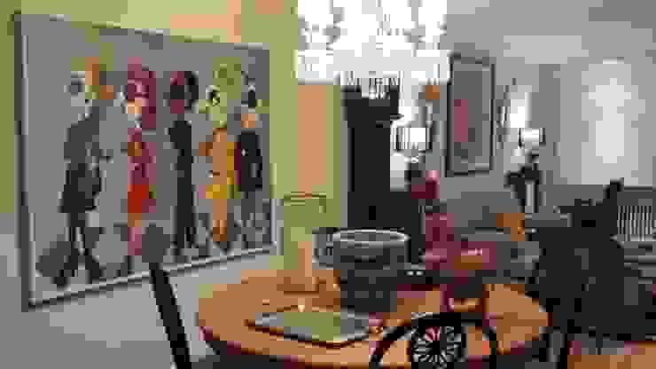 Estudio RYD, S.L. Living room Wood Black