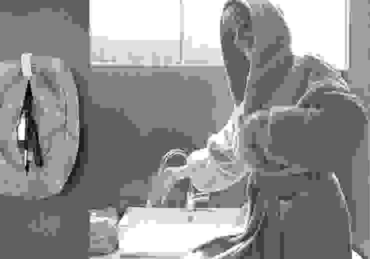 POEMO DESIGN BadezimmerTextilien und Accessoires Baumwolle Weiß