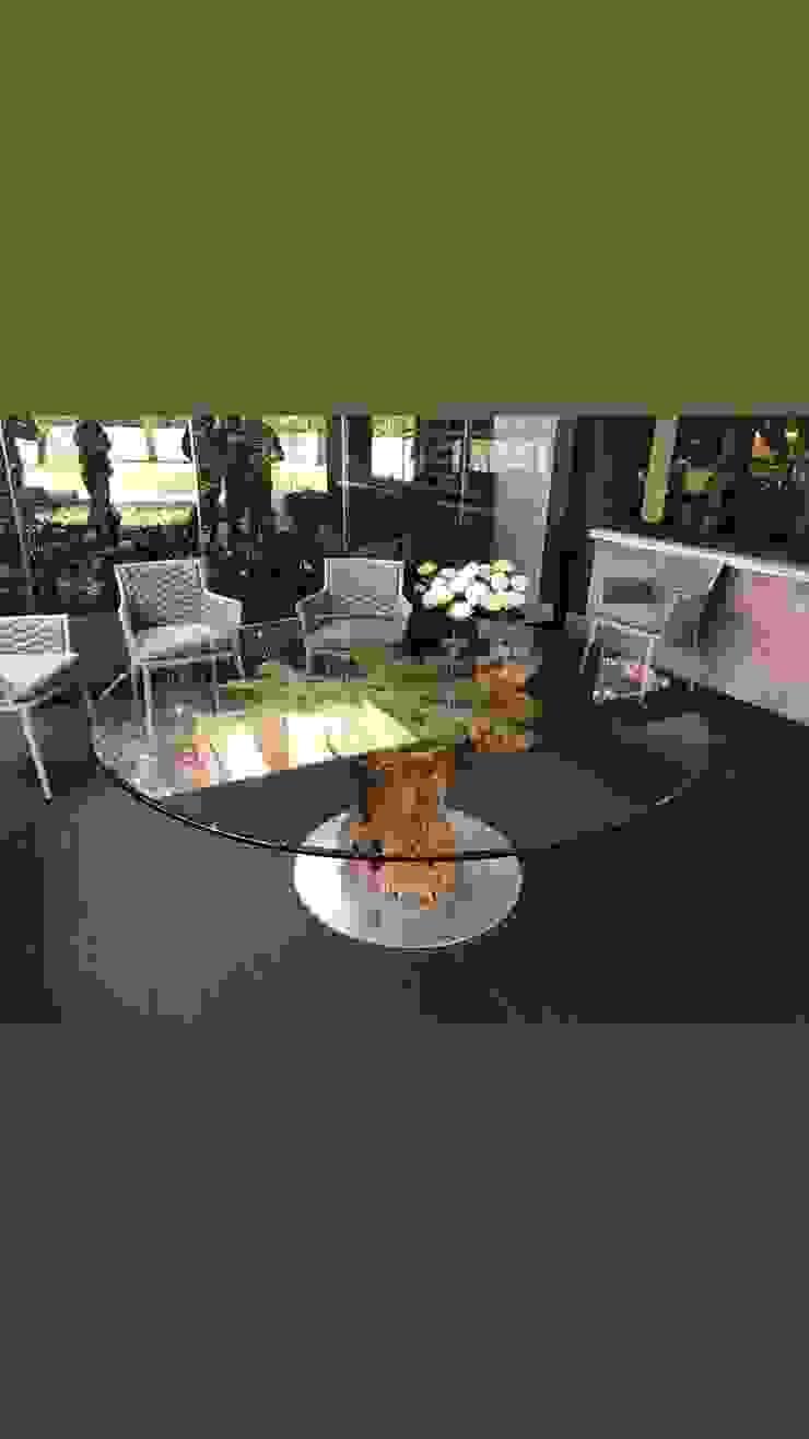tavolo da pranzo in legno di ulivo. Radice In Movimento Sala da pranzoTavoli Legno Marrone