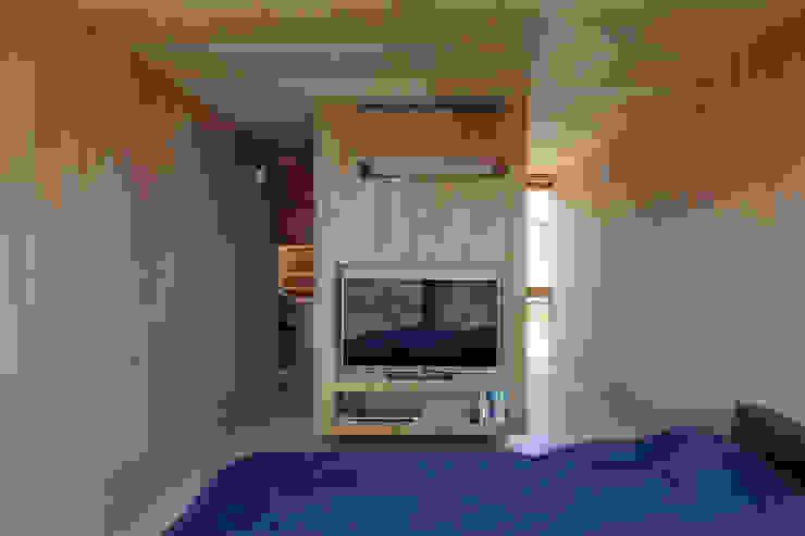 吉田豊建築設計事務所 YUTAKA YOSHIDA ARCHITECT & ASSOCIATES Minimalist bedroom