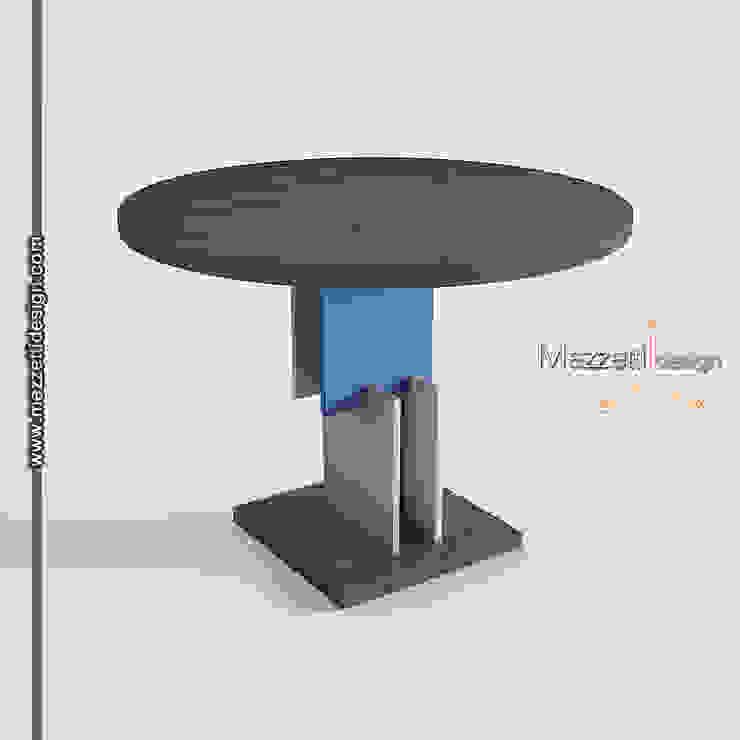 Mezzettidesign CocinaMesas, sillas y bancos Madera