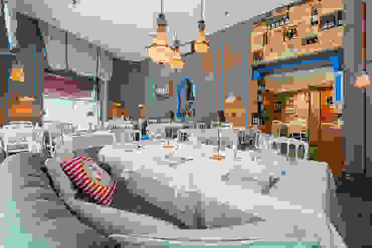 Fotografia interni ristorante Christian Basetti fotografo interni Bar & Club in stile classico