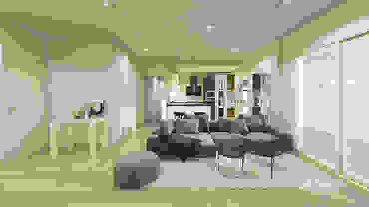 DD House Deiana Design Soggiorno moderno Bianco