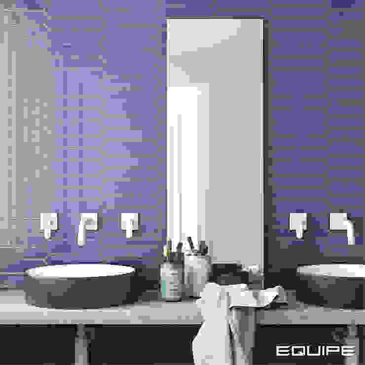 Equipe Ceramicas Modern bathroom Tiles Blue