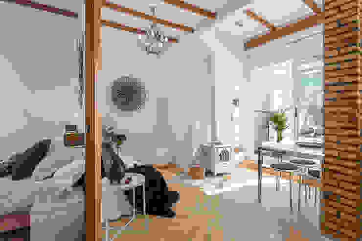 custom casa home staging Mediterranean style living room