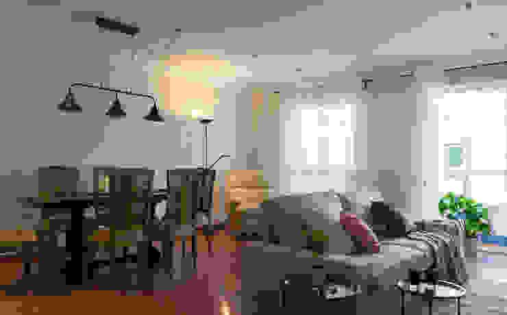 custom casa home staging Їдальня