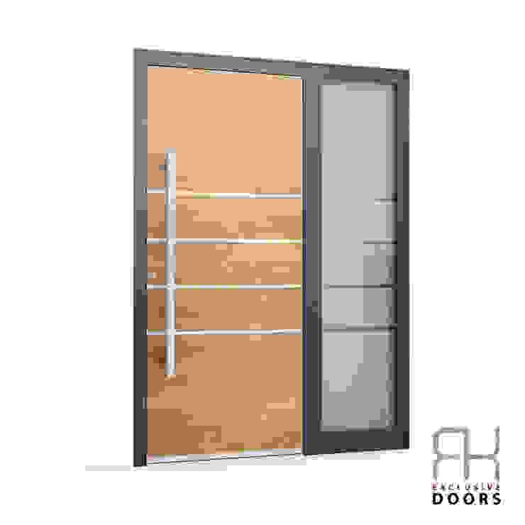 RK Exclusive Doors Парадні двері Алюміній / цинк Дерев'яні