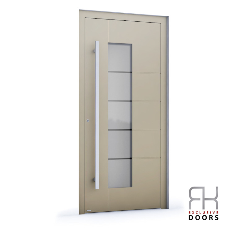 RK Exclusive Doors Парадні двері Алюміній / цинк Бежевий