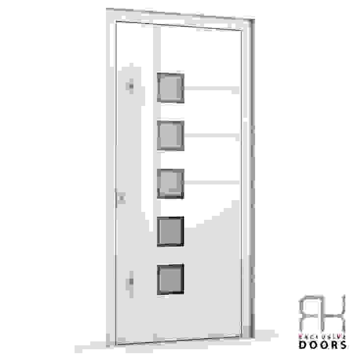 RK Exclusive Doors Парадні двері Алюміній / цинк Білий