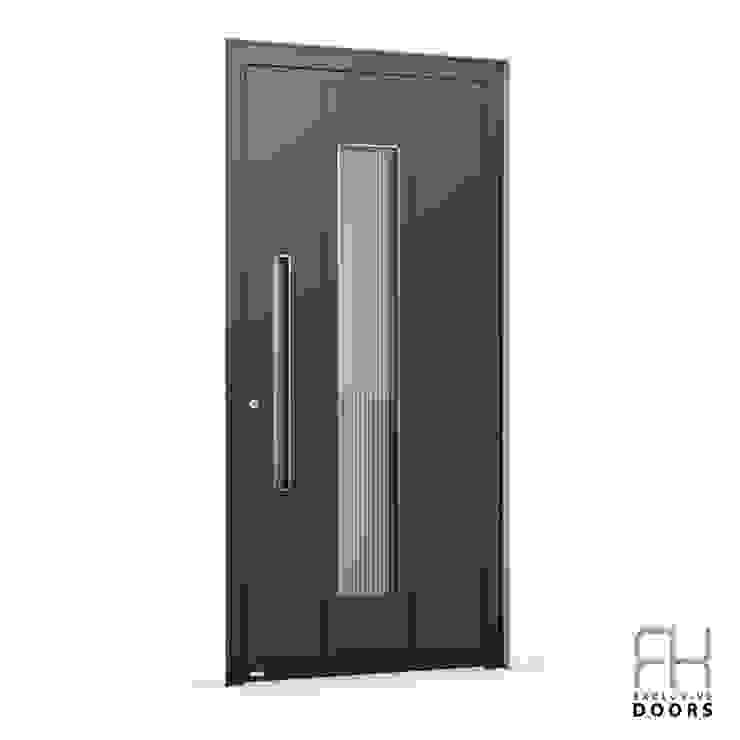 RK Exclusive Doors Парадні двері Алюміній / цинк Коричневий