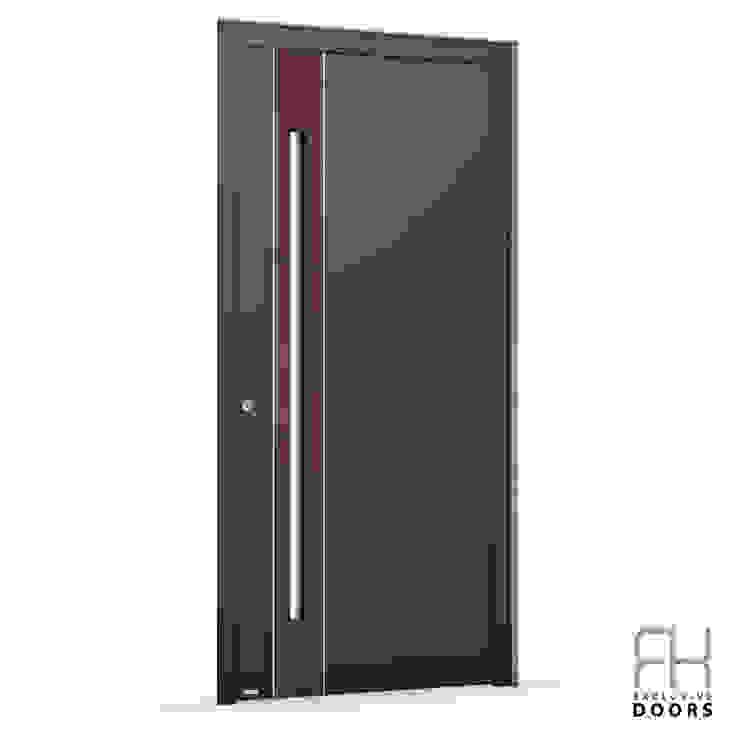 RK Exclusive Doors Парадні двері Алюміній / цинк Червоний
