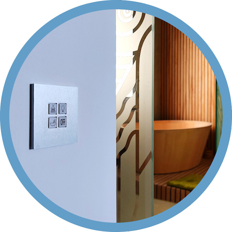Indomotiq, Inmótica y Domótica (Madrid y zona centro) Modern bathroom