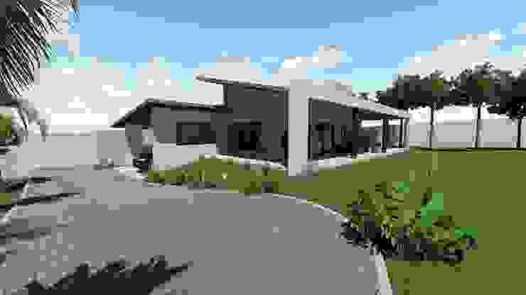 Casa Estrada da Graciosa Danilo Rodrigues Arquitetura Casas familiares