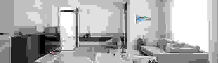 時光相視 漢玥室內設計 客廳凳子與椅子 皮革 Brown