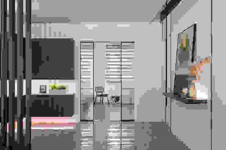 引聚 漢玥室內設計 窗戶與門門 玻璃 Transparent