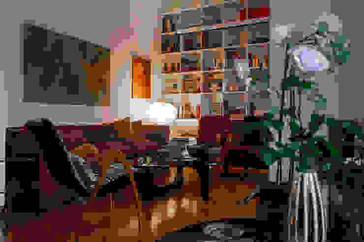 SOGGIORNO angolo relax OPA Architetti Soggiorno moderno Bianco