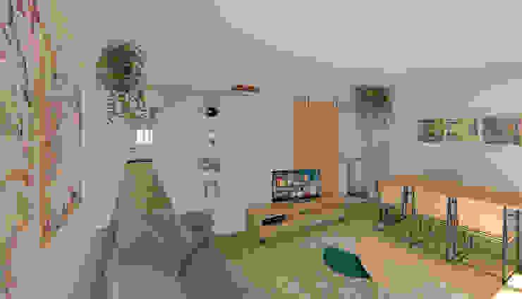 Salón Luciane Gesualdi | arquitectura y diseño Salones de estilo moderno