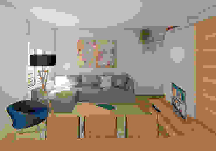 Salón y comedor integrados Luciane Gesualdi | arquitectura y diseño Salones de estilo moderno