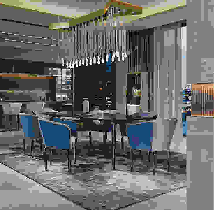 Dining Room Jewel - Brummel BRUMMEL Modern living room Marble Black