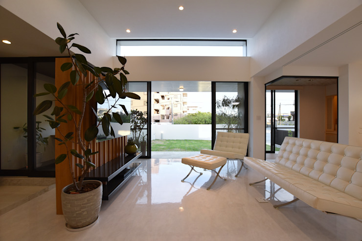 Style Create Гостиная в стиле модерн Белый