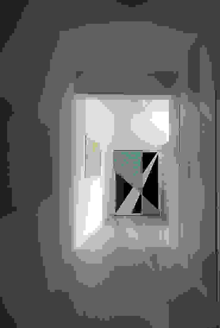 OPA Architetti Minimalist Koridor, Hol & Merdivenler Mavi