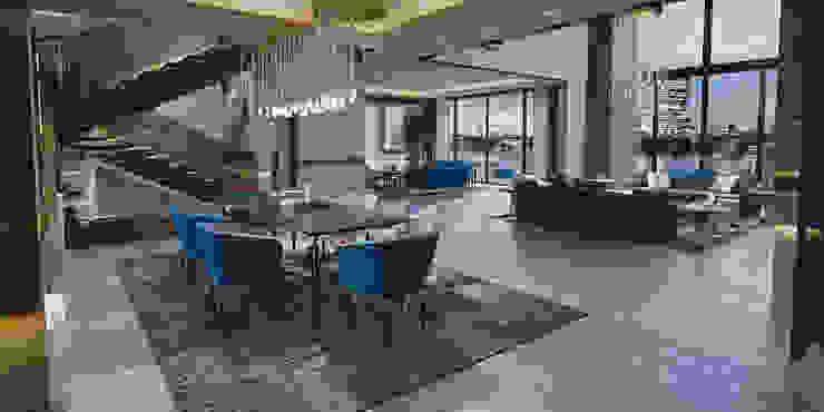 Living Room Jewel - Brummel BRUMMEL Modern dining room Black