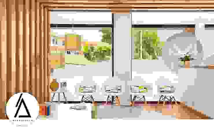 Projeto - Arquitetura de Interiores - Clínica Hipnoterapia Psicoterapia Areabranca Clínicas modernas