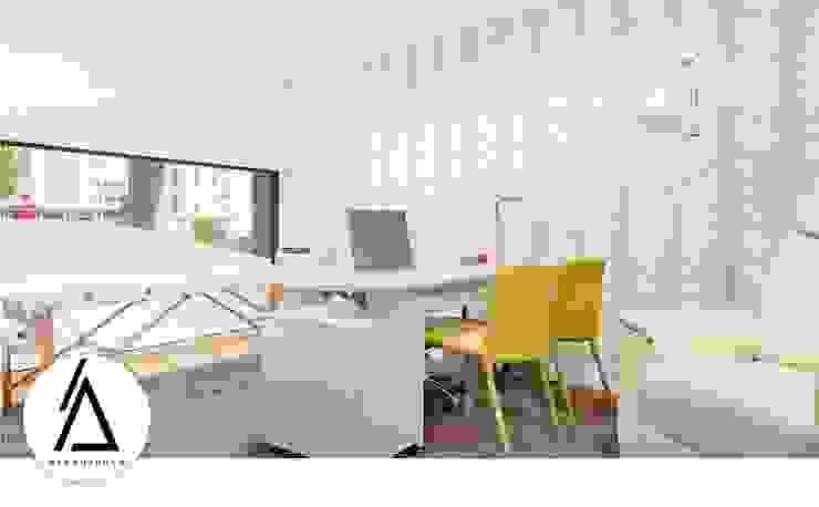 Projeto – Arquitetura de Interiores – Clínica Hipnoterapia Psicoterapia Areabranca Clínicas modernas